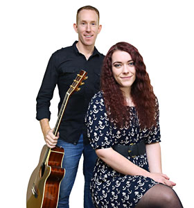 Wedding & Event Live Music - Launceston Acoustic Duo Band Tori & Andy